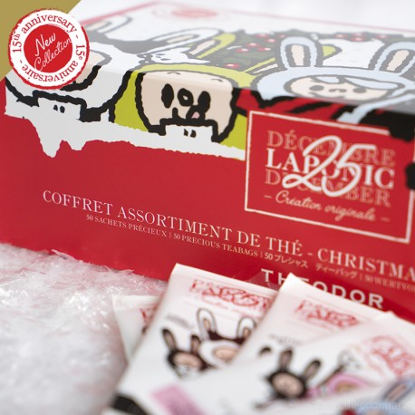Coffret thés de Noël '25 Décembre Laponic'