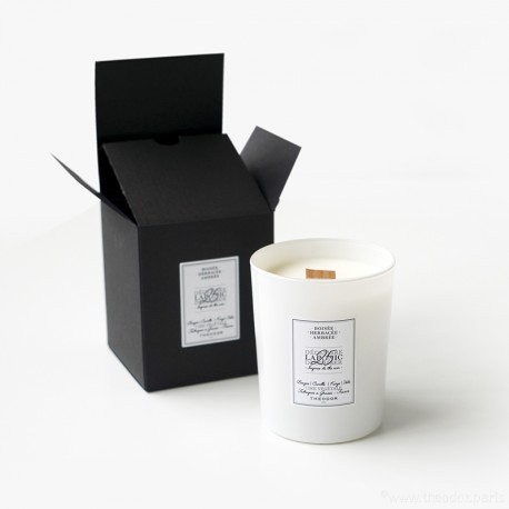 SCENTED CANDLE - 'LAPONIC DECEMBER, 25th' BLACK