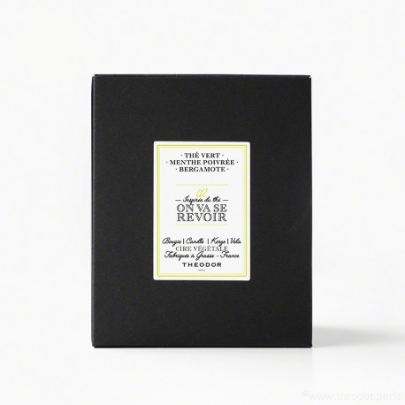 SCENTED CANDLE - '02 - ON VA SE REVOIR'