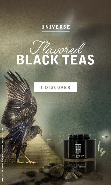 Flavored black teas - THEODOR